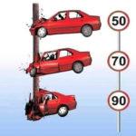 efectele vitezei in caz de accident